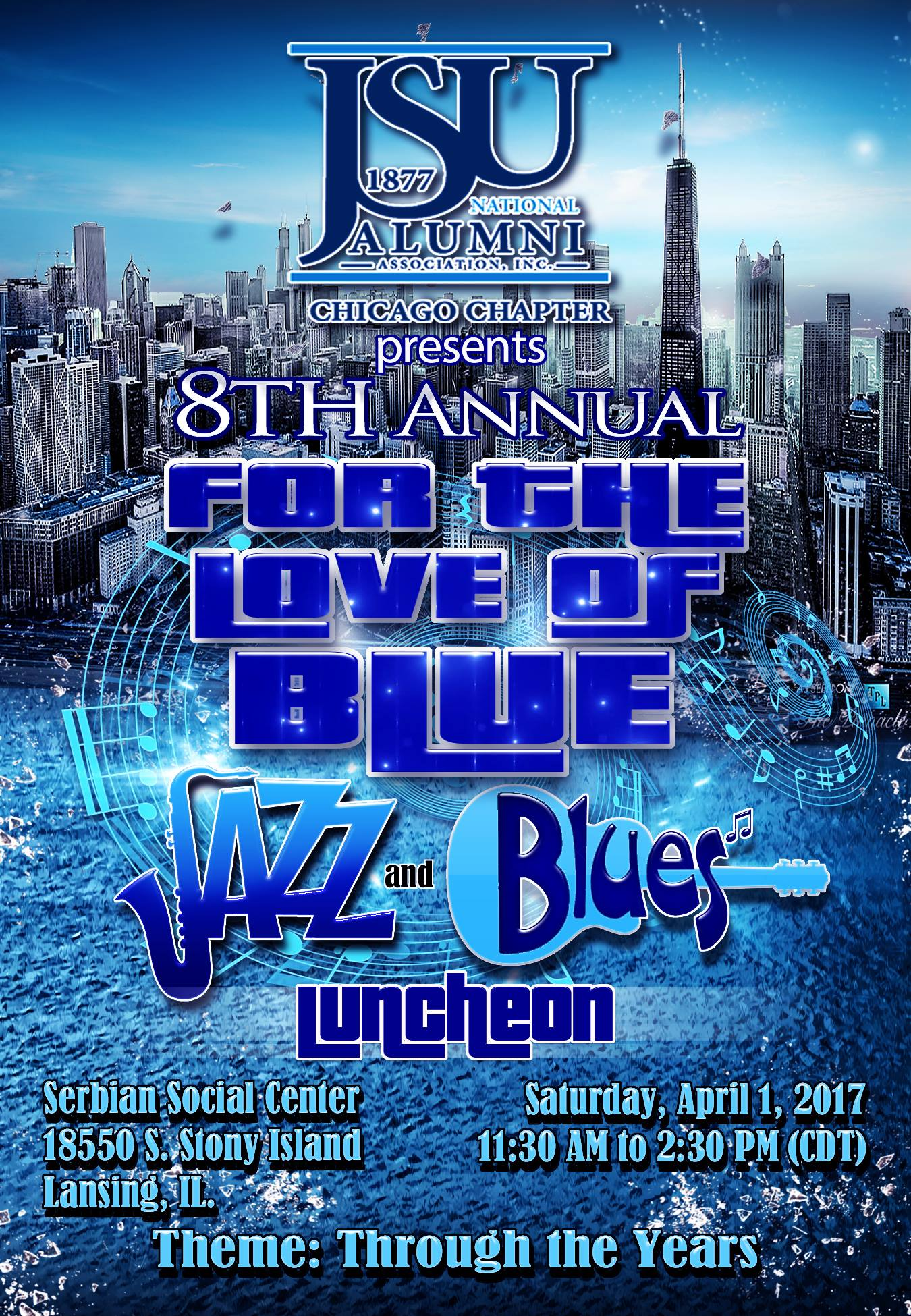 2017 For the Love of Blue Flyer