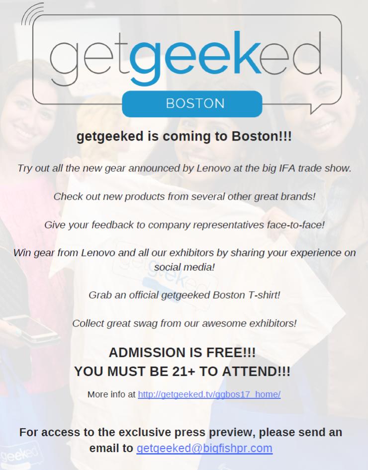 getgeeked Boston 2017