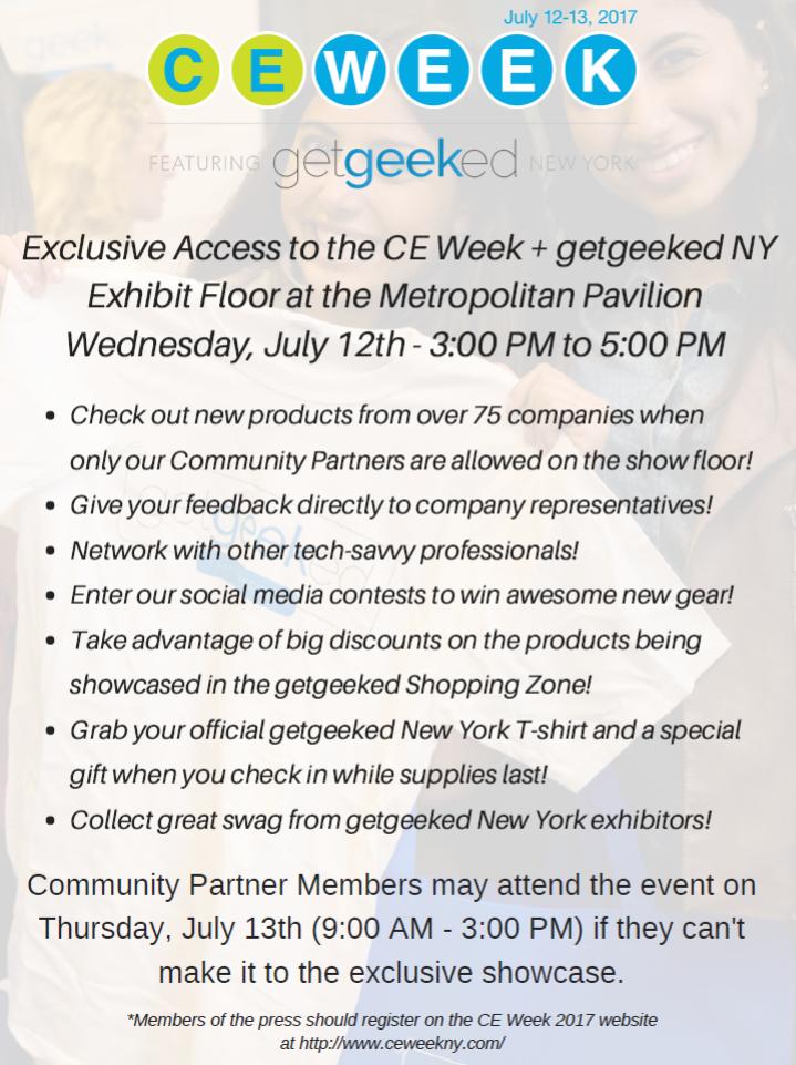 getgeeked NY Partner Showcase