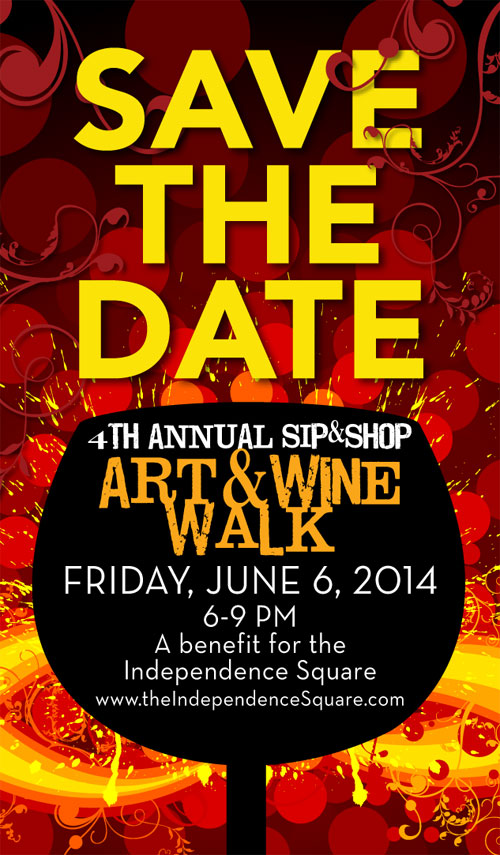 Sip & Shop ~ Art & Wine Walk - 2013
