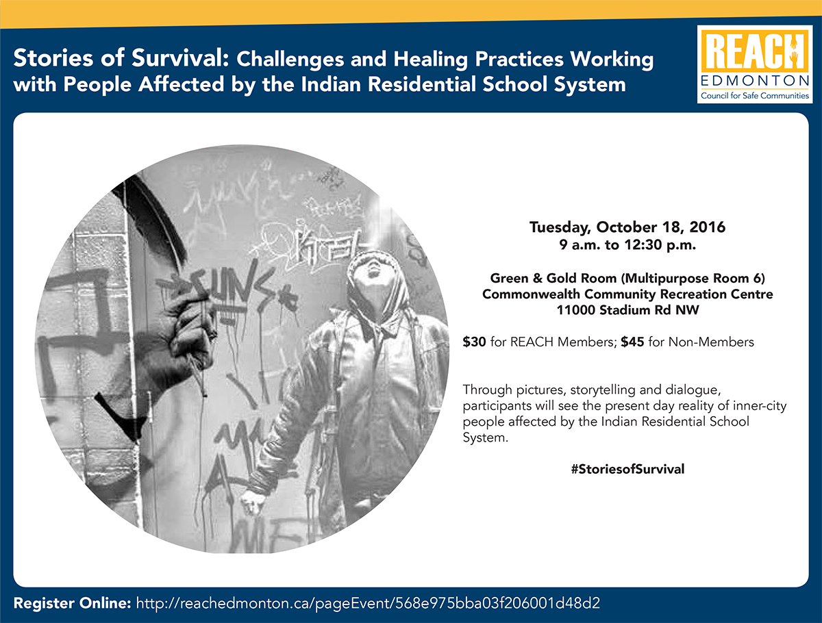 Stories of Survival Workshop Poster