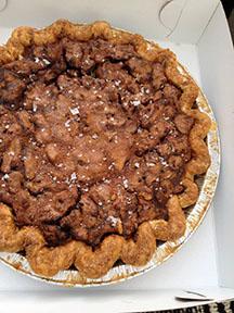Salty Walnut Pie