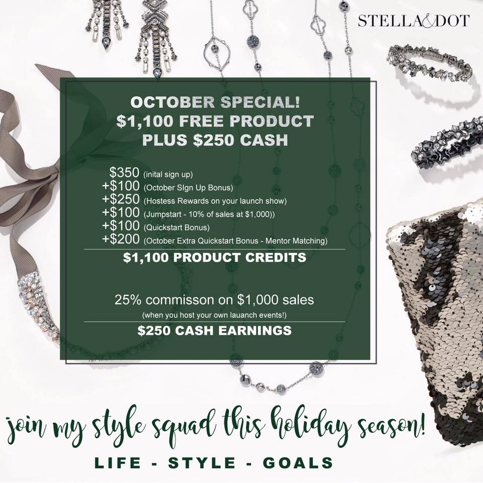 October sign up special