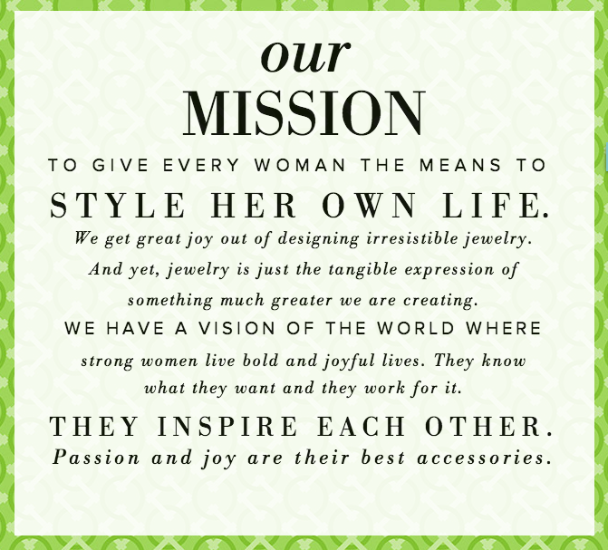 Stella & Dot Mission