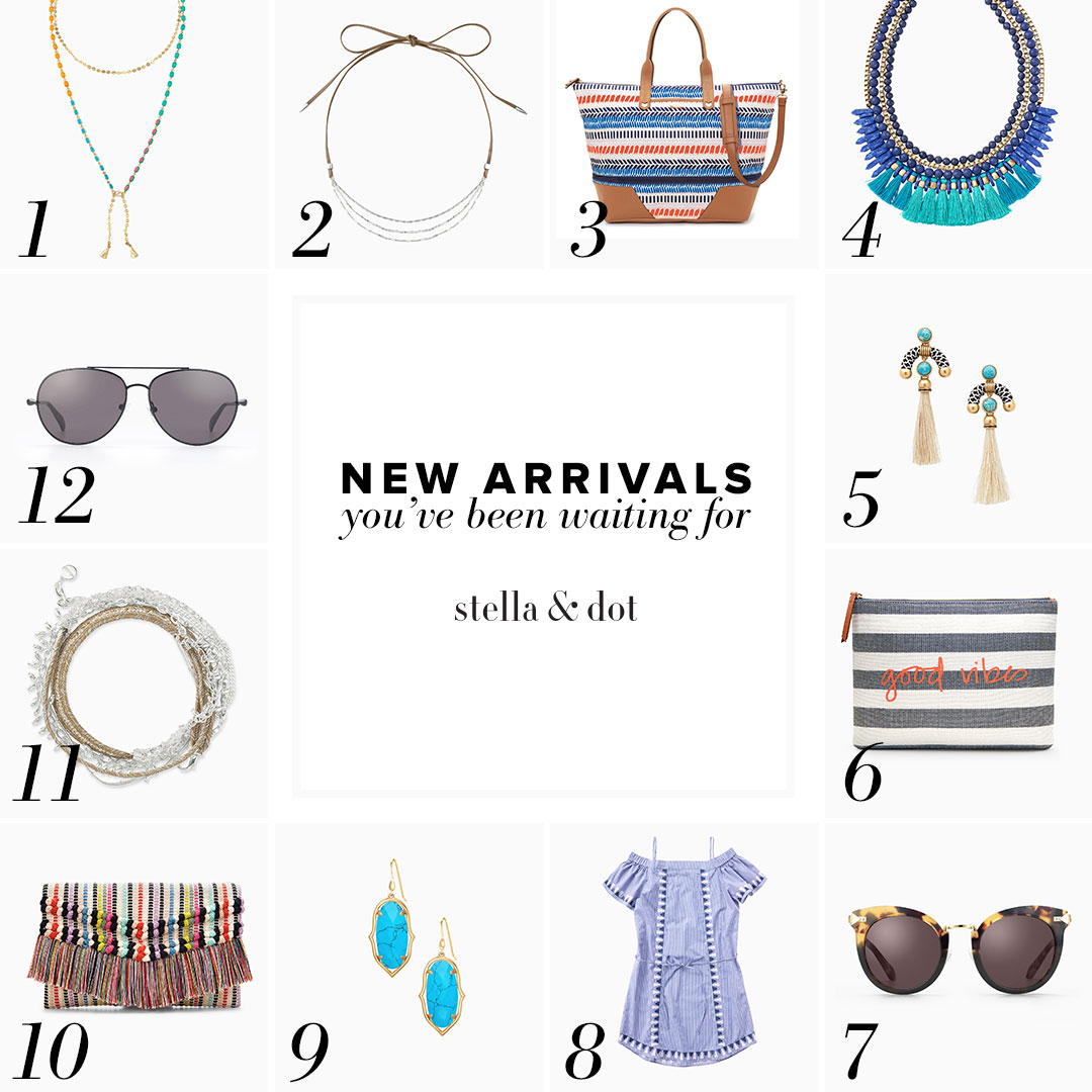 Summer new arrivals