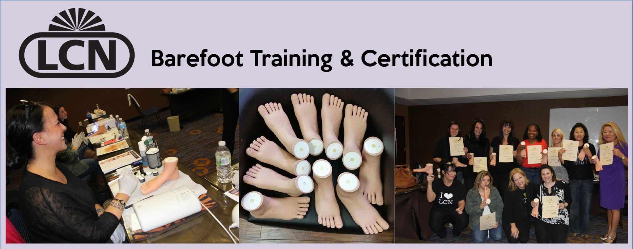 LCN Barefoot Training