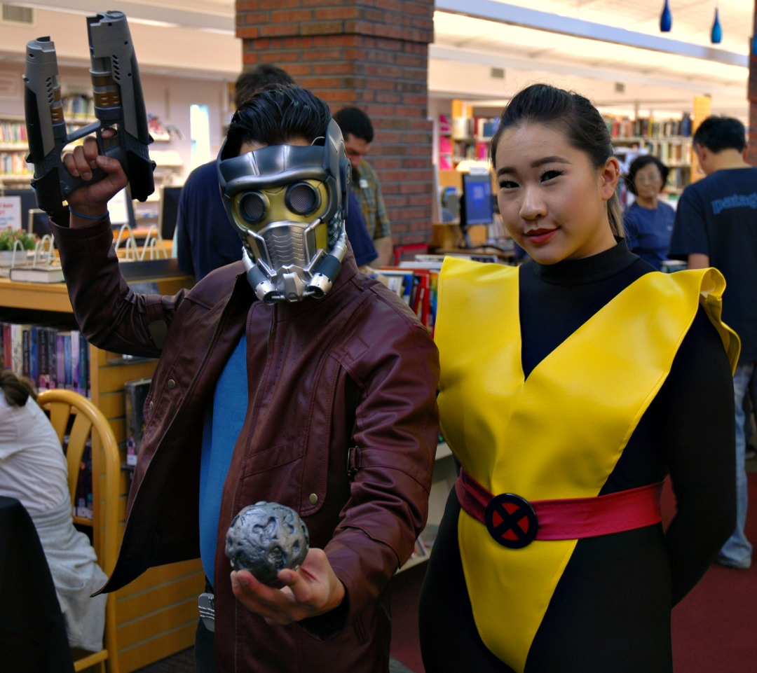 Kitty Pryde and Starlord