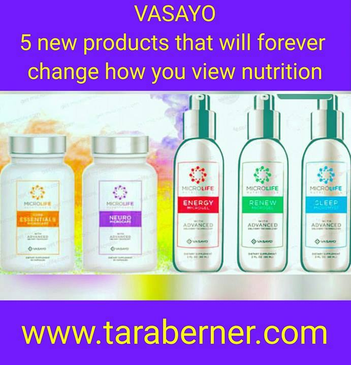 Vasayo MicroLife Nutritionals Products