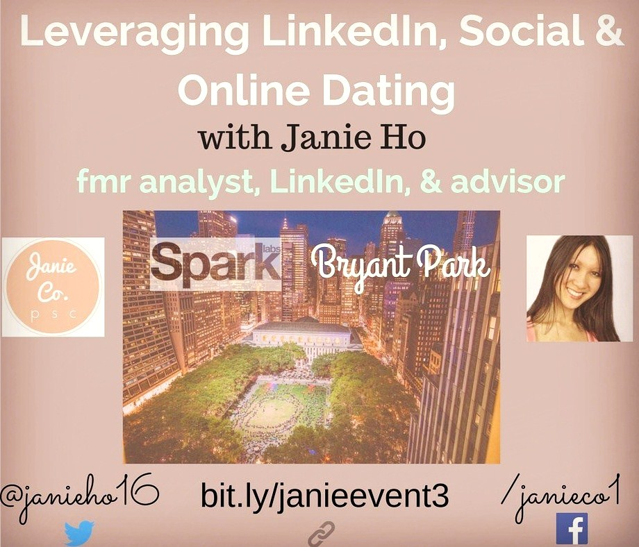 Janie Ho LinkedIn Expert NYC, Social Media Speaker