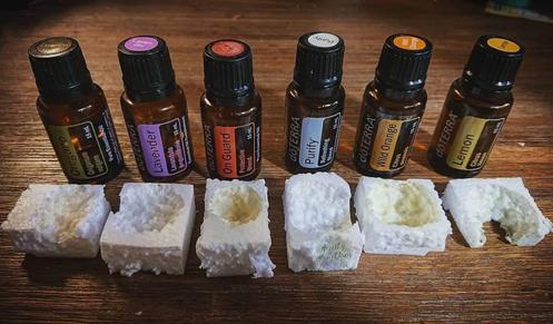 essential oils polystyrene powerful cleanser
