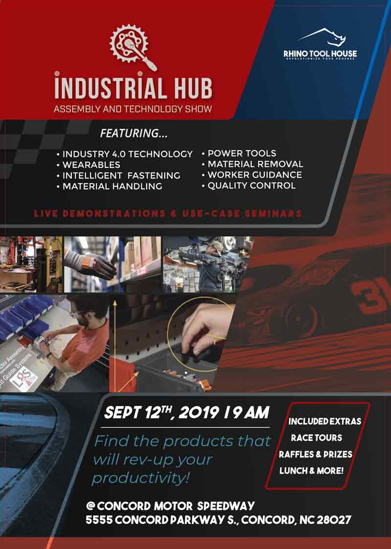 Industrial Hub Assembly & Technology South 2019