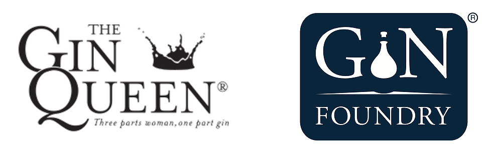 gin foundry and gin queen logo