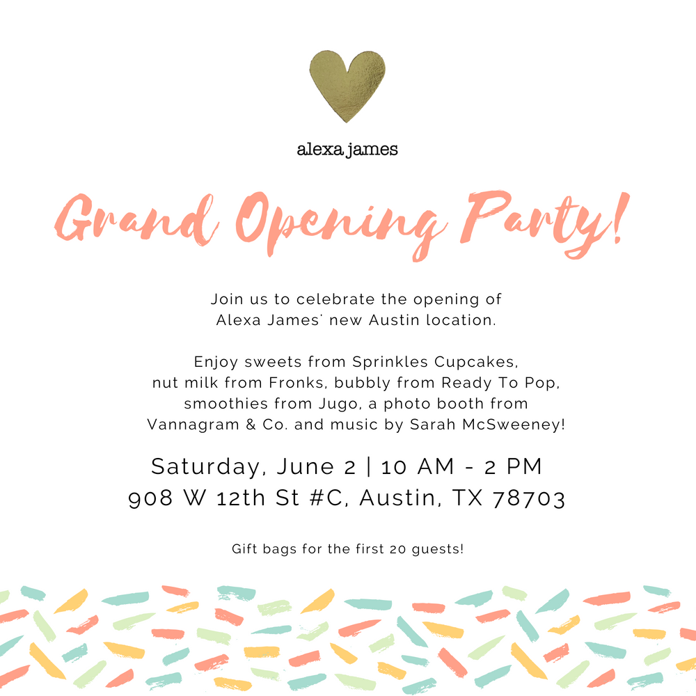 Alexa James Baby Grand Opening Party