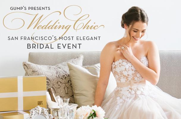 Gump's bridal event