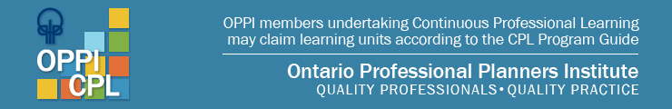 OPPI members attending this event and undertaking CPL may claim learning units according to the CPL program