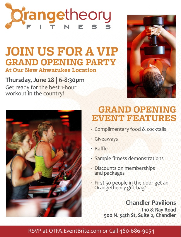 Orangetheory Fitness Ahwatukee Grand Opening