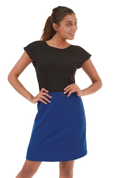 harumi k womens clothing  blue dress