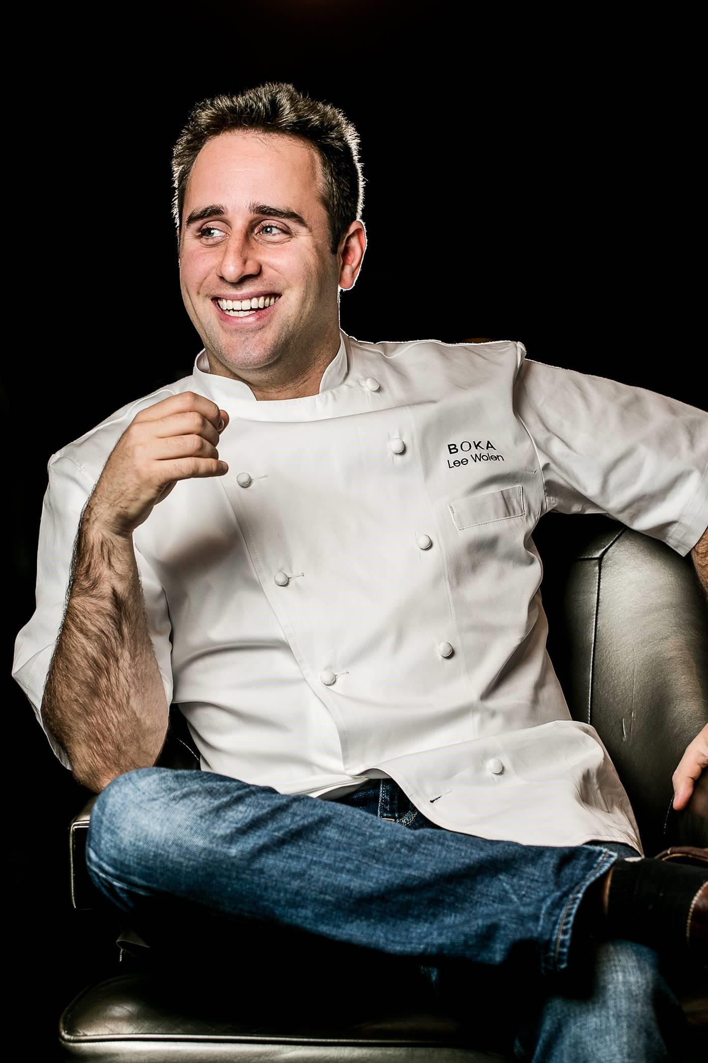 Executive Chef/Partner Lee Wolen