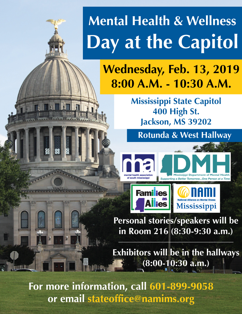 2019 Mental Health And Wellness Day At The Capitol Tickets Wed Feb