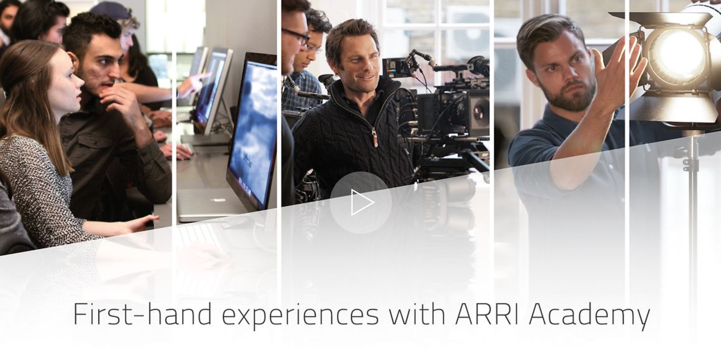 First-hand experiences with ARRI Academy
