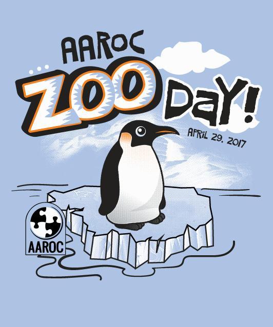 2017 AAROC Zoo Day t-shirt design