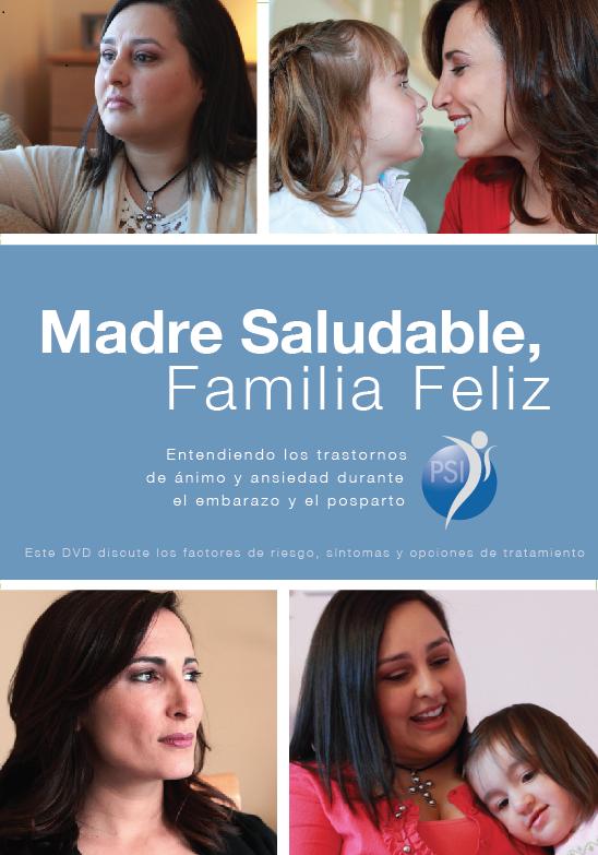 """Madre Saludable, Familia Feliz: Entendiendo los trastornos de ánimo y ansiedad durante el embarazo y después del parto"""""""