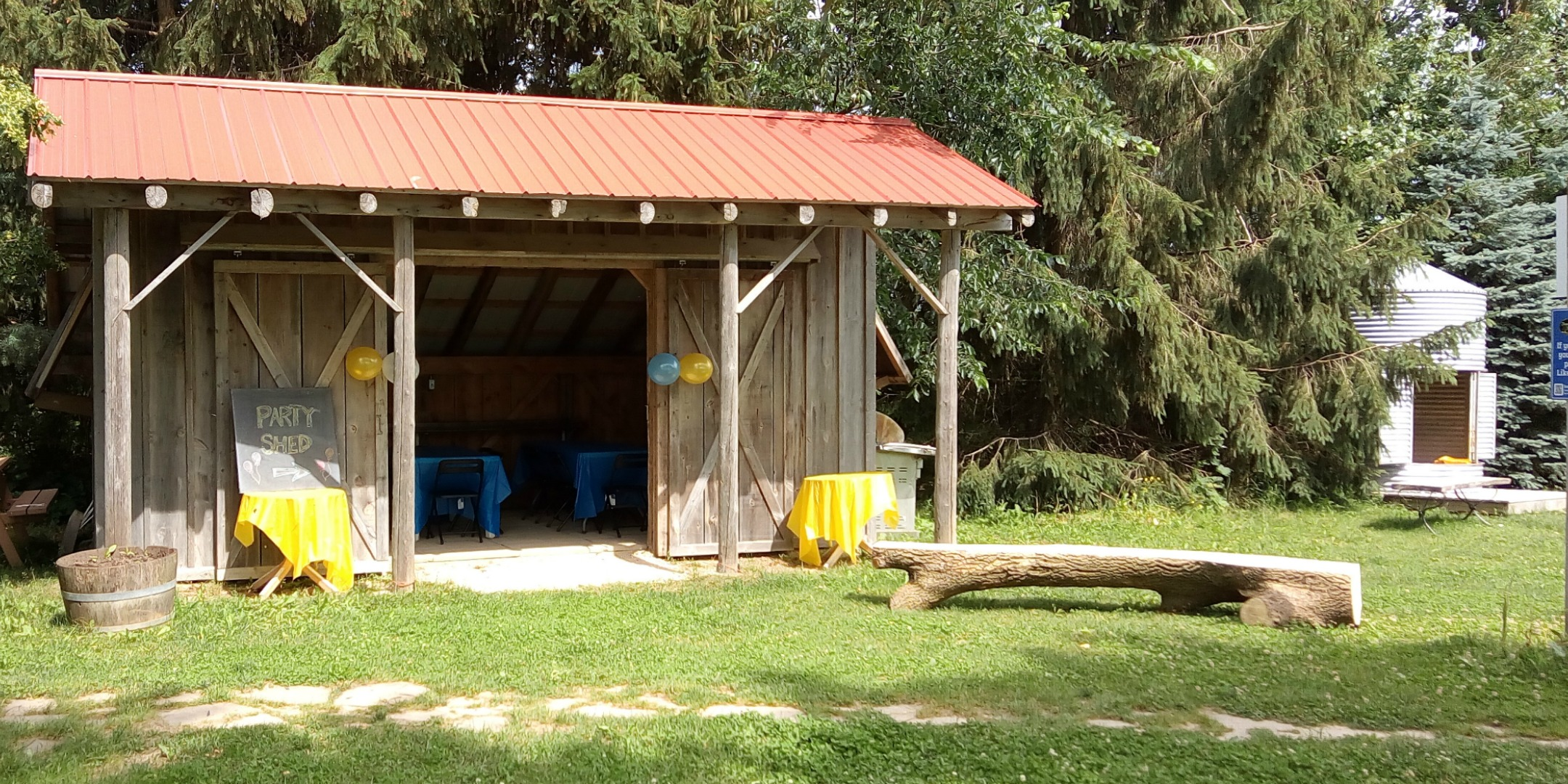 Mapleton's Organic Party Shed