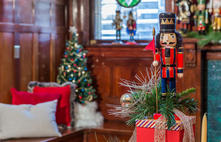 Nutcracker in Lougheed House dining room