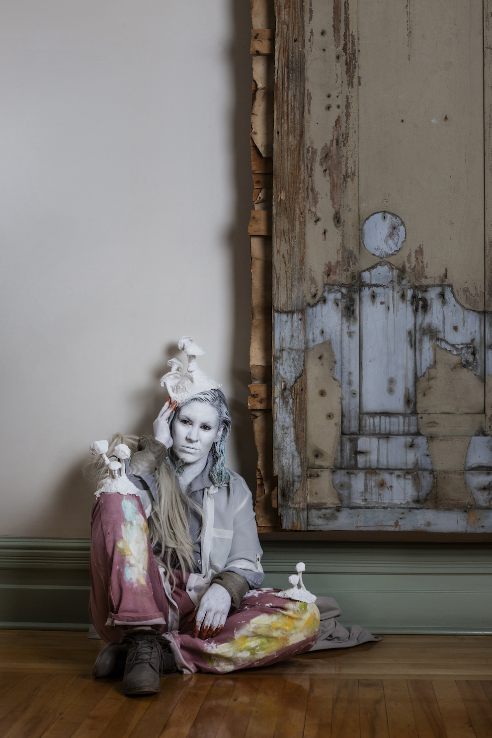 Nicole Bruce in Restoration Room by Katy Whitt Photography