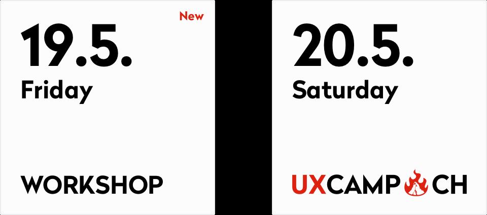 UXCamp Switzerland on 19./20.5.2017