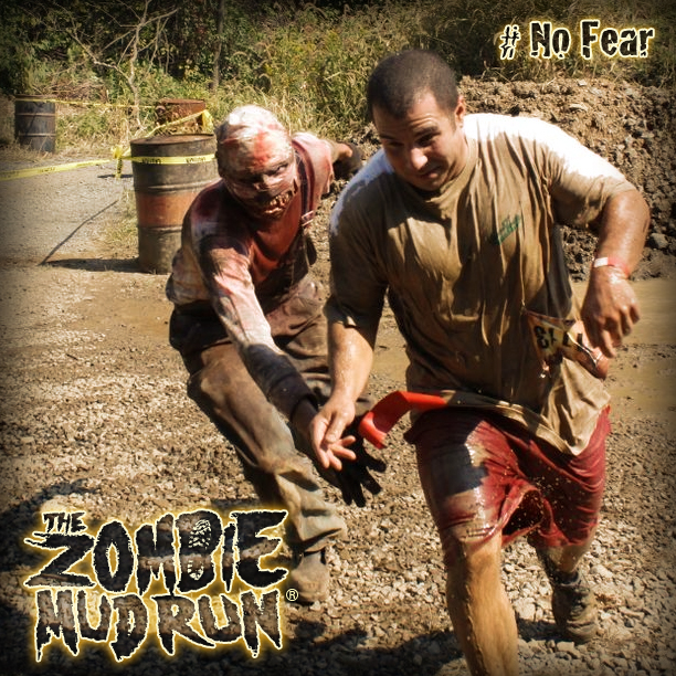 The Zombie Mud Run Zombie 1