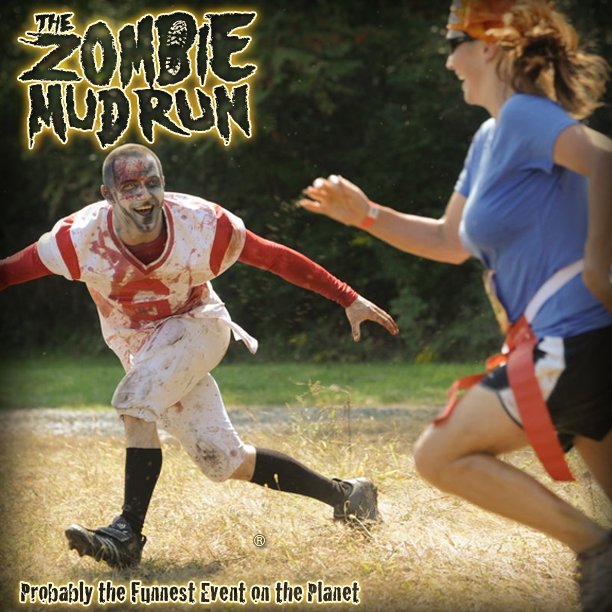 The Zombie Mud Run - Zombie
