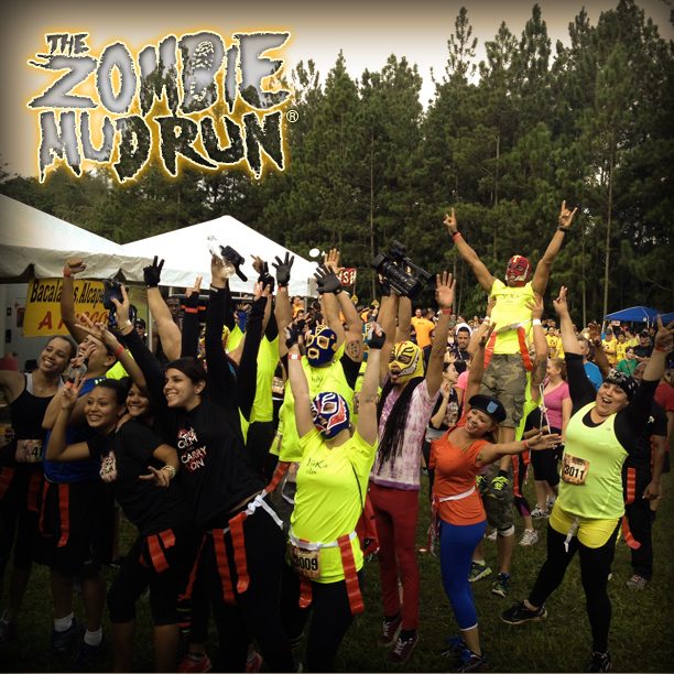 The Zombie Mud Run - Green Zone