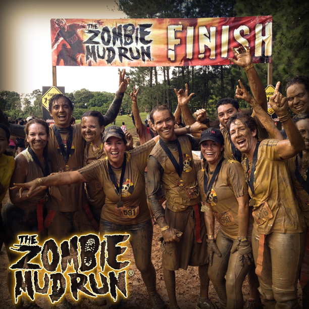 The Zombie Mud Run - Finsih