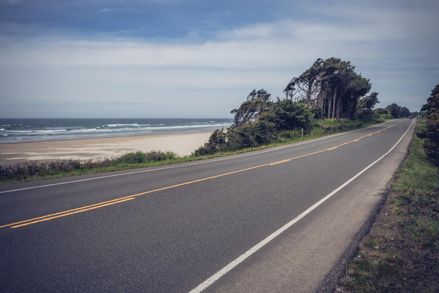 Highway 101 near Waldport