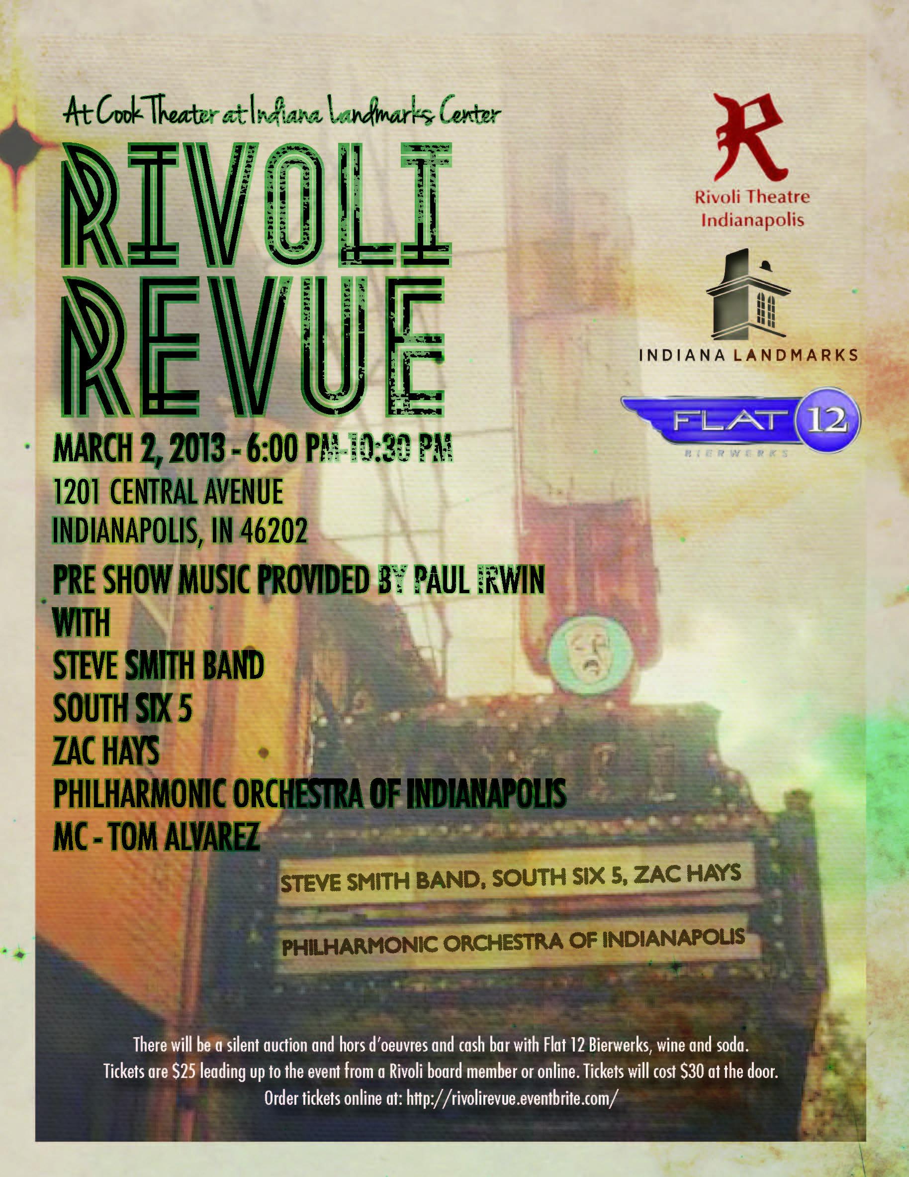 Rivoli Revue flyer