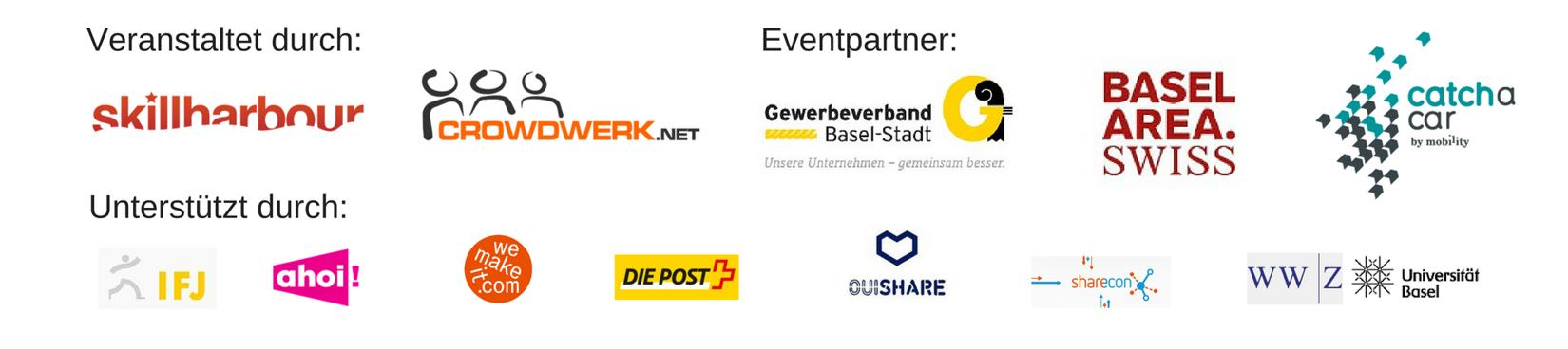 Partnern und Unterstützer der Sharenight 2016