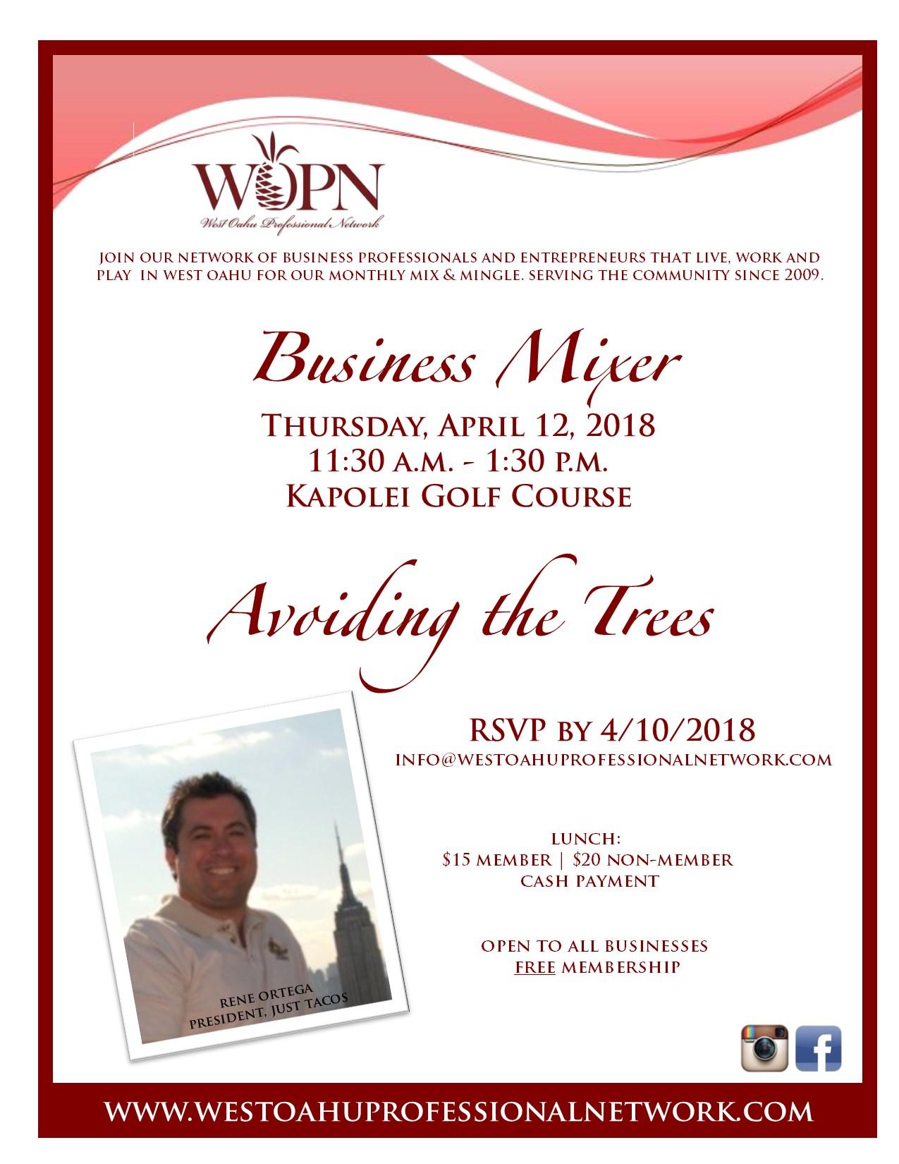 WOPN Business Mixer - April 12, 2018