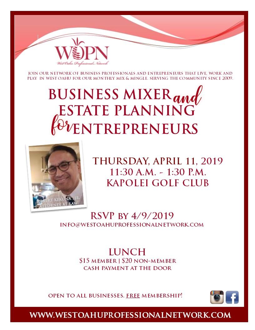 WOPN Business Mixer - April 2019