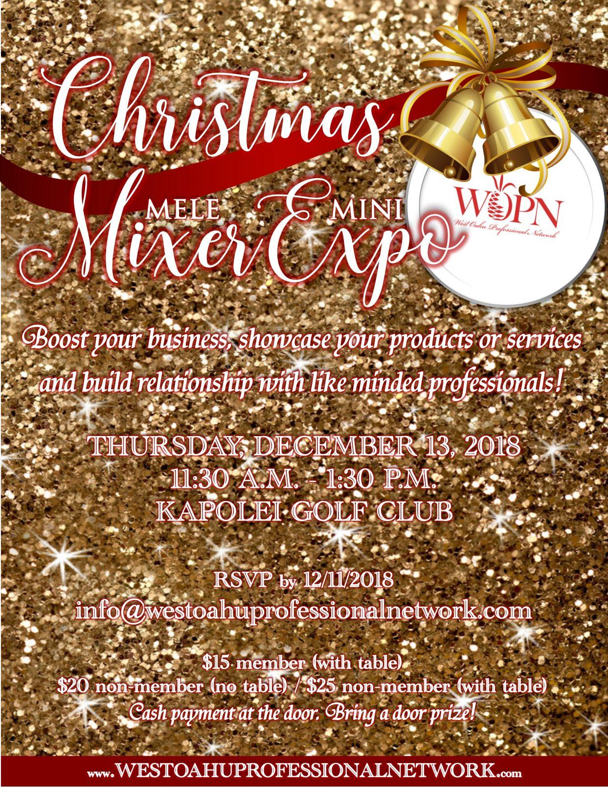 WOPN - Christmas Mixer & Expo