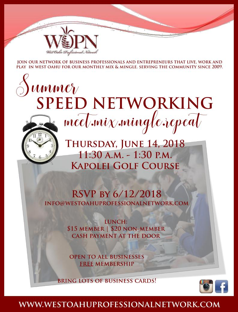 WOPN Business Mixer - June 14, 2018