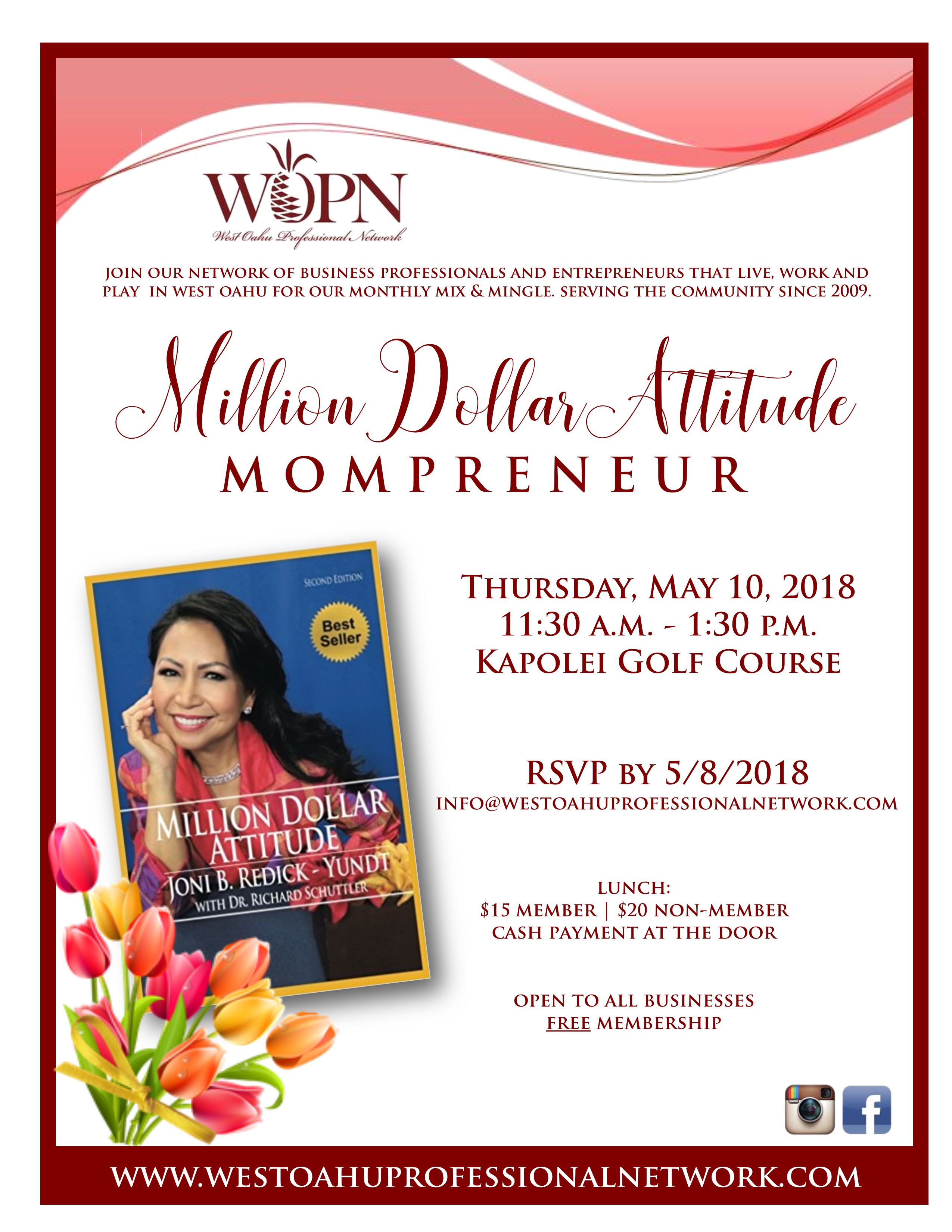 WOPN Business Mixer - May 2018 Invite