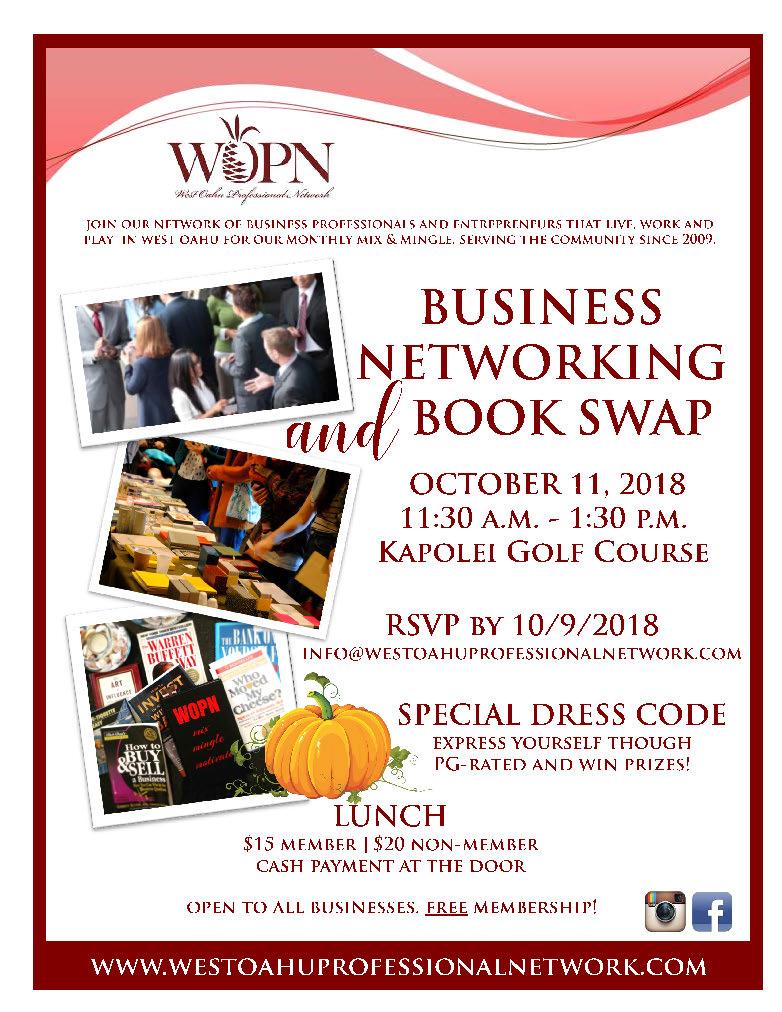 WOPN Mix & Mingle - October 2018