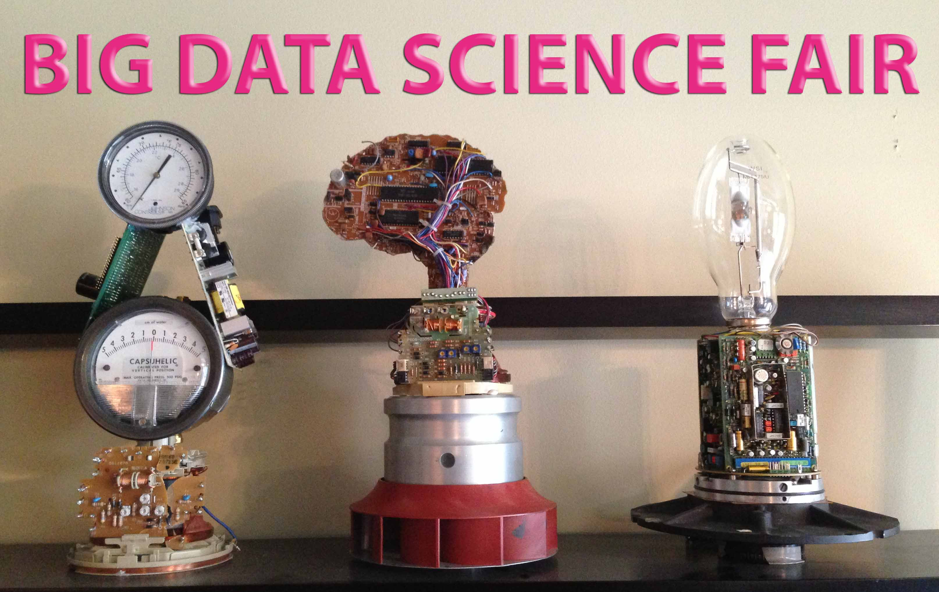 Big Data Science Fair Trophies