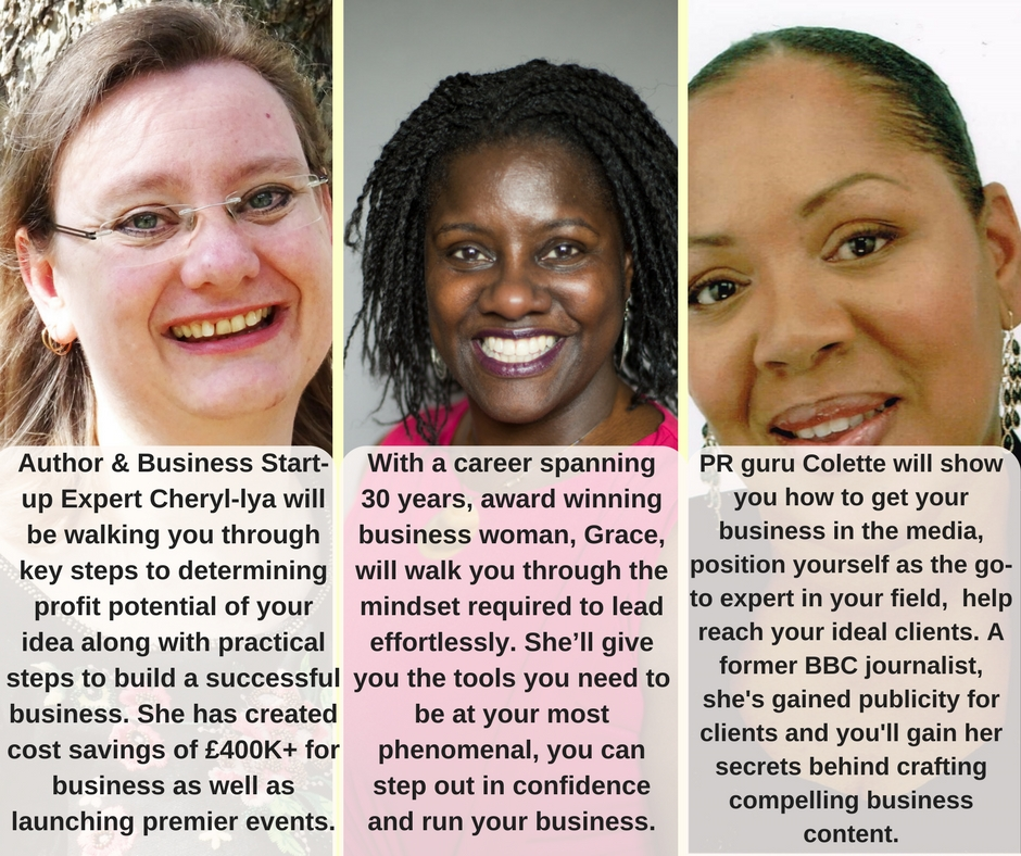 Business Mastery for Women Trainer Bios