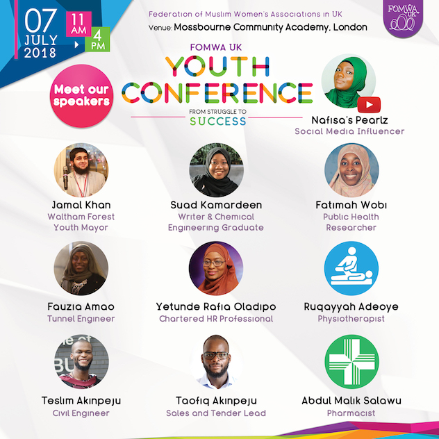 FOMWA UK Youth Conference 2018 Tickets, Sat, 7 Jul 2018 At