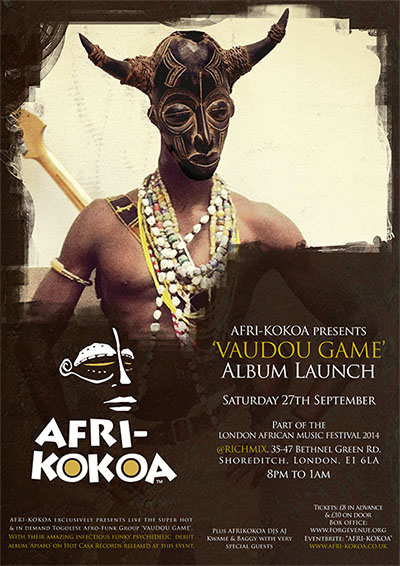 AFRI-KOKOA presents Vaudou Game