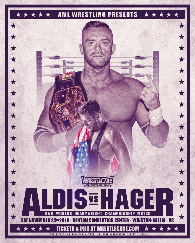 Aldis Hager Title Match Print