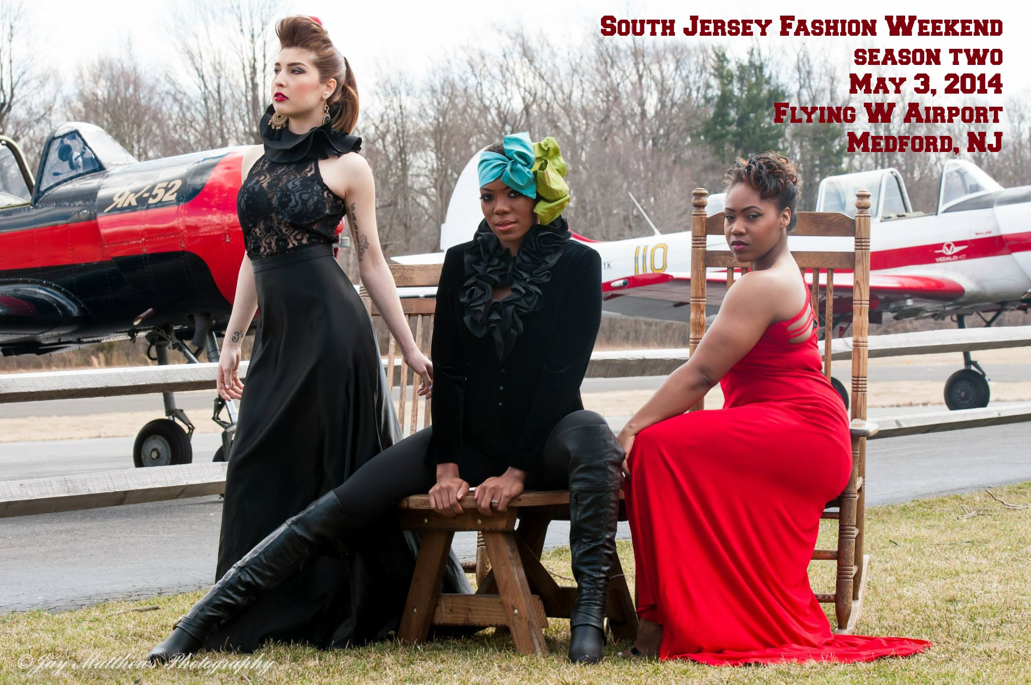 South Jersey Fashion Weekend Promo Shoot
