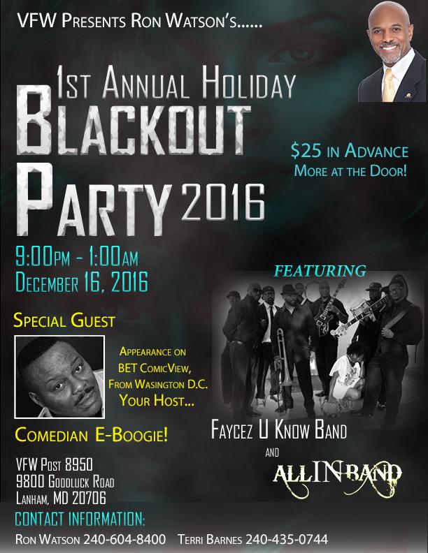 2016 Blackout Flyer